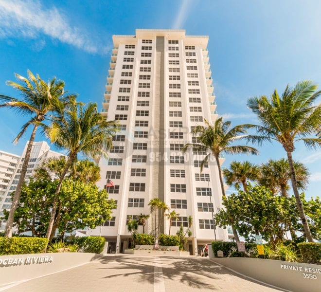 Riviera - 3550 Galt Ocean Dr - Galt Ocean Mile Condos for Sale & Rent -Prestige Waterfront Realty AskPWR - CommonAreas - building front entrance