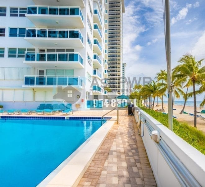 The Commodore Condominium 3430 Galt Ocean Drive Fort Lauderdale FL 33308 Prestige Waterfront Realty AskPWR Heated Oceanfront Pool