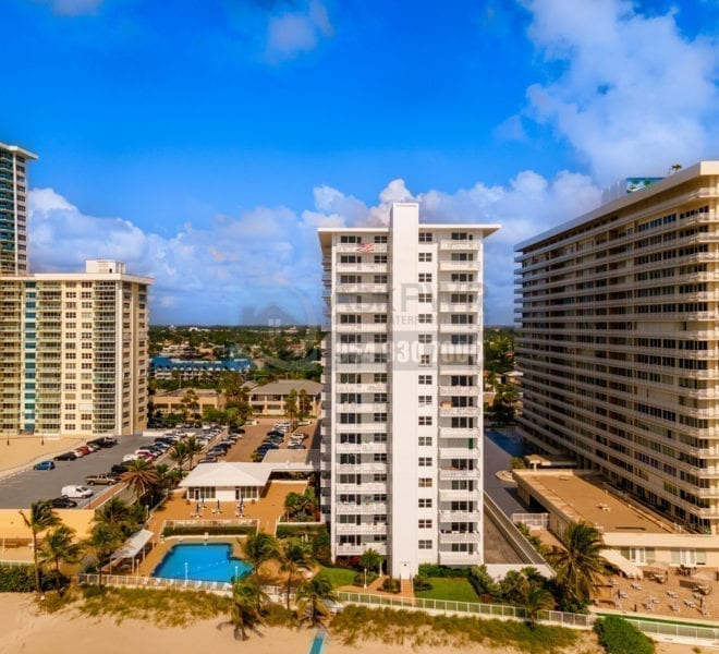 Ocean Summit Condominium 4010 Galt Ocean Drive Galt Mile Real Estate Listings Oceanfront Condos for Sale & Rent Prestige Waterfront Realty AskPWR Beach Drone June 2020 - 1