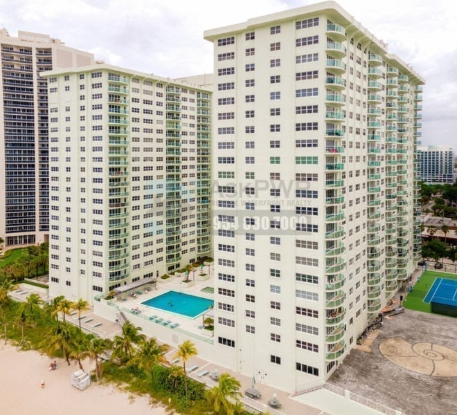 Southpoint_Condominium-3750 Galt_Ocean_Drive_Galt_Mile_Real Estate_Listings-Oceanfront_Condos_for_Sale_&_Rent-Prestige_Waterfront_Realty_AskPWR-Beach_Drone-June_2020 - 1