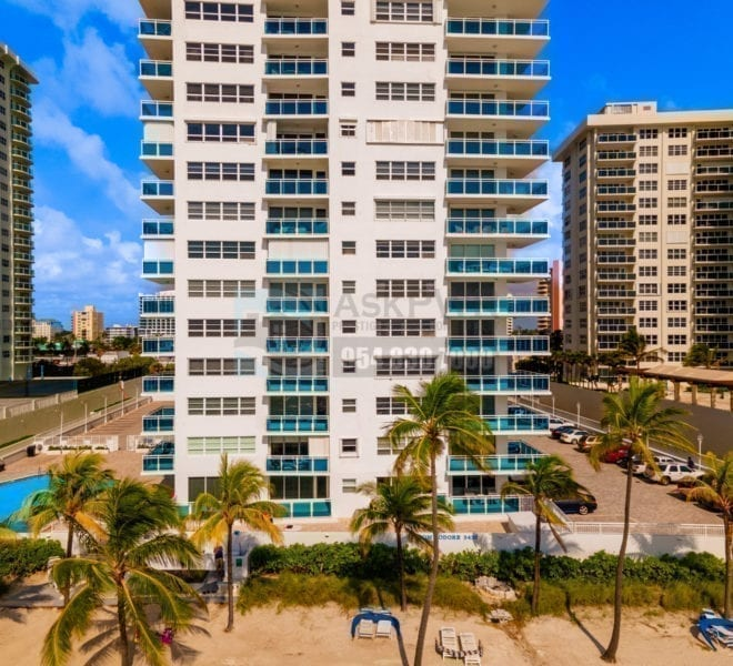 The_Commodore_Condominium-3430_Galt_Ocean_Drive-Galt_Mile-Real_Estate_Listings-Oceanfront_Condos_for_Sale_&_Rent-Prestige_Waterfront_Realty_AskPWR-Beach-Drone-June_2020-1