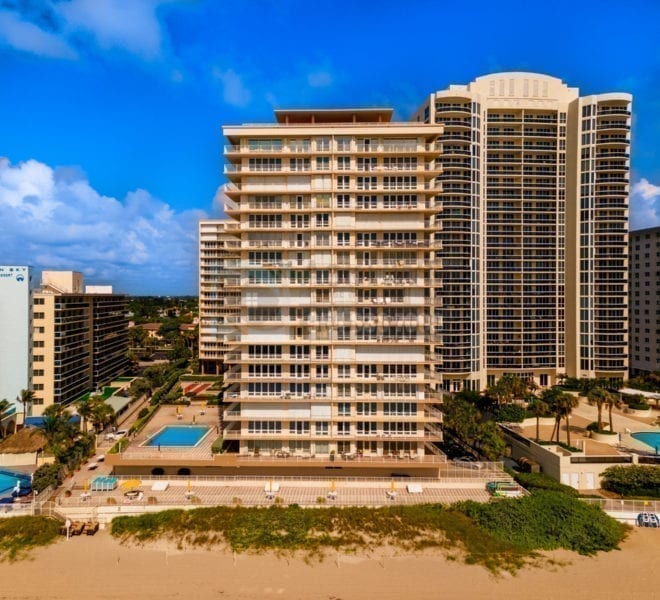 The Galleon 4100 Galt Ocean Drive Galt Mile Real Estate Listings Oceanfront Condos for Sale & Rent Prestige Waterfront Realty AskPWR Beach Drone June 2020 - 1